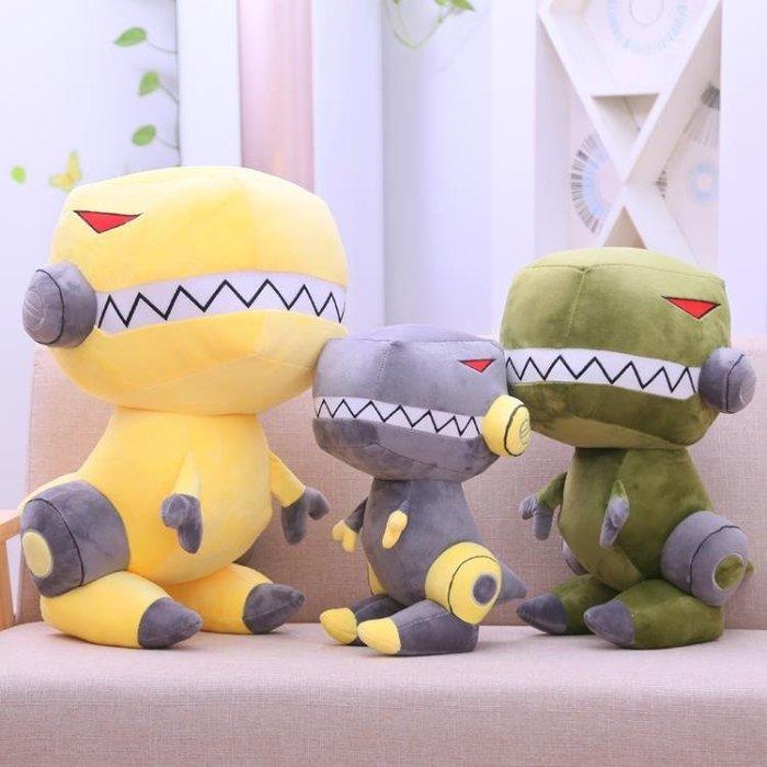 男神恐龍毛絨玩具玩偶卡通布娃娃霸王龍公仔兒童生日禮物睡覺抱枕