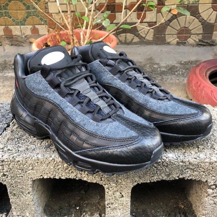 玉米潮流本舖 NIKE AIR MAX 95 PRM AT6146-001 黑底紅勾  慢跑鞋