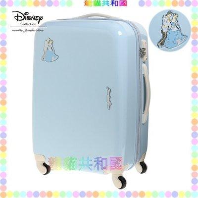 ※龍貓共和國※日本進口 迪士尼Disney《Cinderella灰姑娘 仙度瑞拉行李箱 登機箱58CM》[限量珍藏版!]