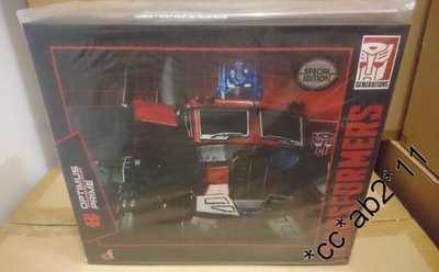 罕有全新未開封 Hot Toys Hottoys 1/6 Transformers Optimus Prime Special Edition 一盒(已停產)