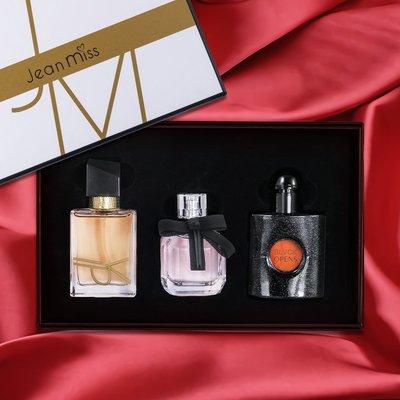 香水JEAN MISS自由派對香水禮盒黑鴉片反轉巴黎女士香水持久留香淡香