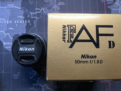nikon 50mm f1.8d 二手鏡頭