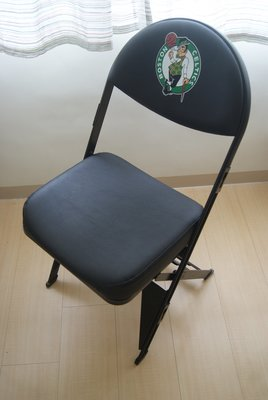NBA官方授權 Spec Seats 波士頓塞爾蒂克Boston Celtics隊徽籃球椅 球員實坐 椅架堅固 椅墊厚實