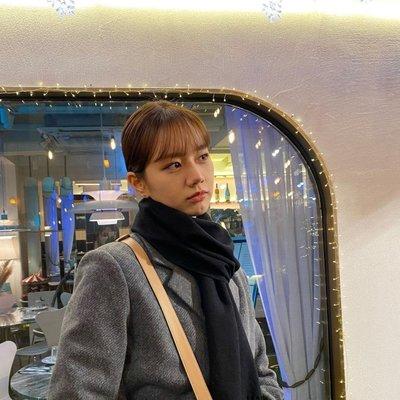 小金*韓國代購*韓劇我的室友是九尾狐惠利著用 LETTER FROM MOON 品牌腰帶造型羊毛長版西裝外套~預購中