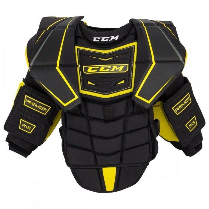 CCM Premier R1.9青少年過渡INT-L尺碼適合160~170公分 冰球等級 曲棍球守門員護胸 直排可用