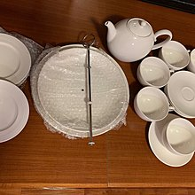 英式下午茶陶瓷餐具+西式餐湯餐具