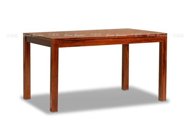 柚木 長型餐桌-133【大綠地家具】100%印尼柚木實木/經典柚木/長桌/餐桌