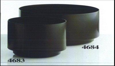 KARTELL 圓形植物容器 (底部有轆)