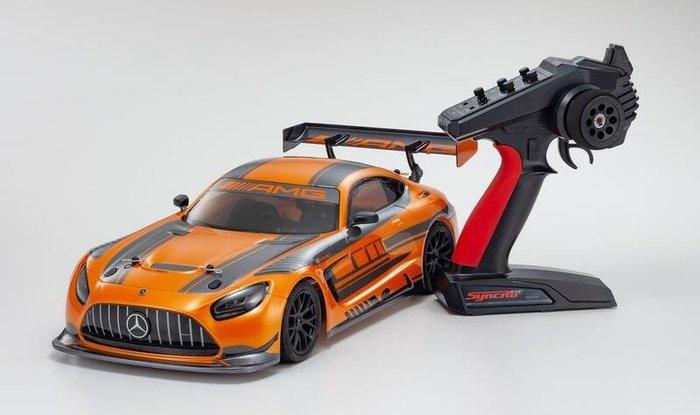 **RC小舖**KYOSHO 34424 1/10 EP電動競速房車FZ02 2020 Mercedes-AMG 全套組