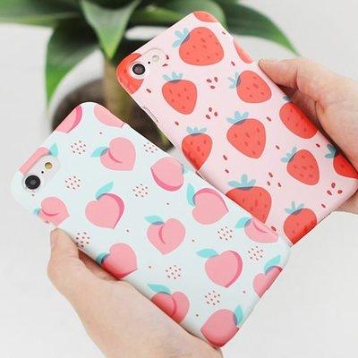 韓國 滿版水果 硬殼 手機殼│S7 Edge S8 S9 S10 S10e│z7999