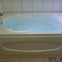 優質精品衛浴(固定式浴缸特殊乾式工法,施打防霉膠) RF-159 150*91*62cm 壓克力空缸安裝施工圖1份