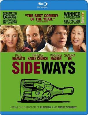 【藍光電影】杯酒人生 / 尋找新方向 / 並肩前行 / SIDEWAYS (2004)