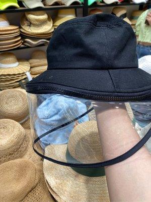 韓國 韓製 成人 兒童 幼兒 防疫 隔離帽 可拆式 拉鍊款 另有 連著的 草帽款
