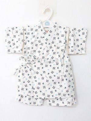 ✪胖達屋日貨✪ 褲款 110cm 白底 海軍 帆船 船舵  日本 男 寶寶 兒童 和服 浴衣 甚平 抓周 收涎 攝影