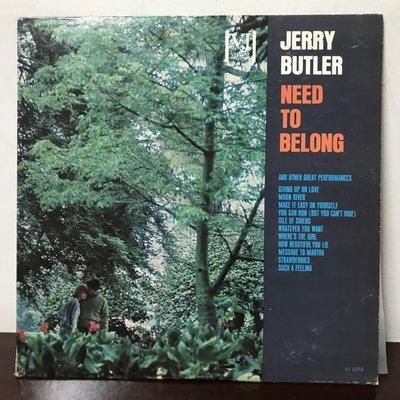 晨雨黑膠【西洋】美版Promo白版/Jerry Butler – Need To Belong (1963首版)