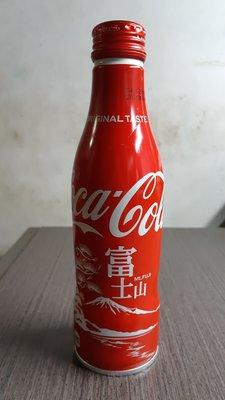 全新 Coca Cola 可口可樂 日本限定 富士山 紀念鋁瓶