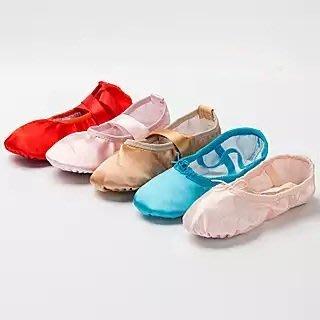 漫舞精靈 緞面芭蕾舞鞋 表演舞鞋 兩點軟鞋