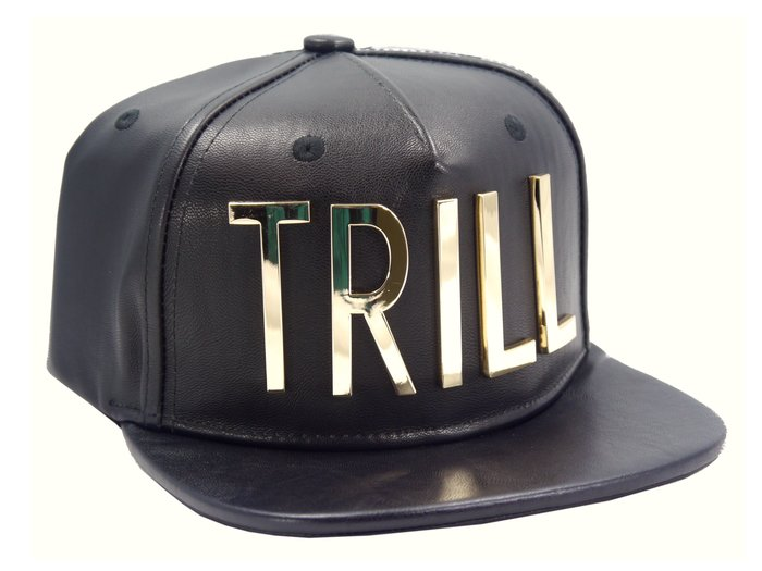 [ RENEXO ] HATer TRILL SNAPBACK 金屬 五芒星 皮革 皮質 棒球帽