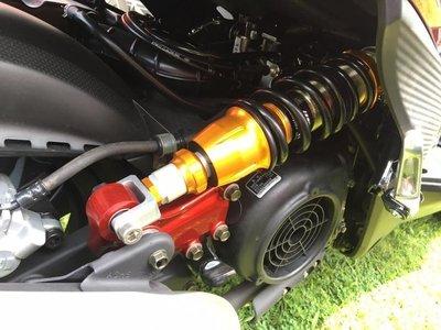 誠一機研 HJI MAX 中置避震 雷霆 S 125 RACING S 後避震器 禾家興業 kymco 品川 中央單槍