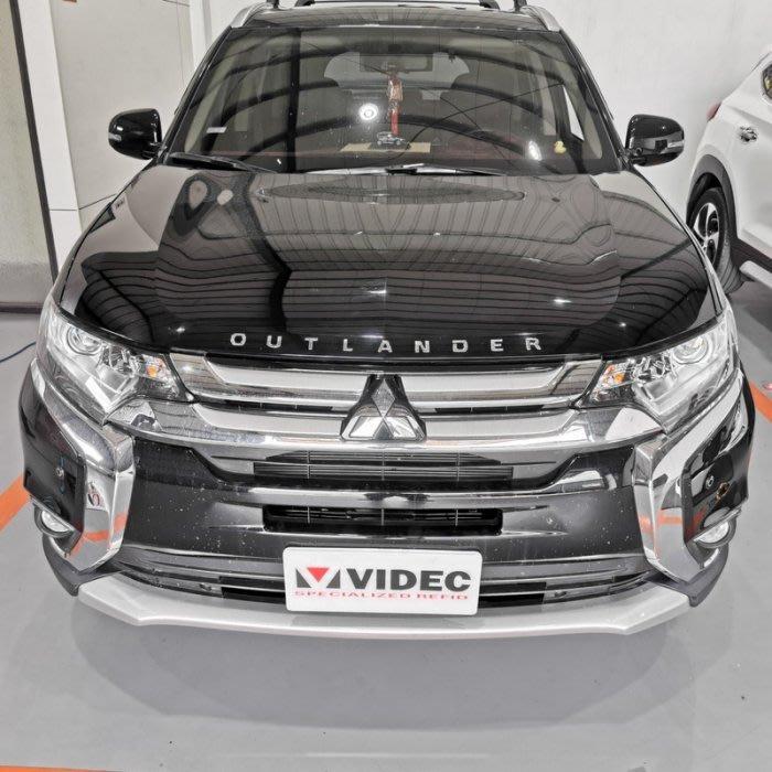 大台南汽車精品 三菱 Mitsubishi OUTLANDER 引擎蓋 字標 車標 字母標 正廠