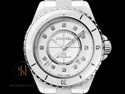 【鴻昇名錶】 CHANEL 香奈兒 J12 Ceramic H5705 高科技陶瓷材質 鑽石時標 最新款 AE266