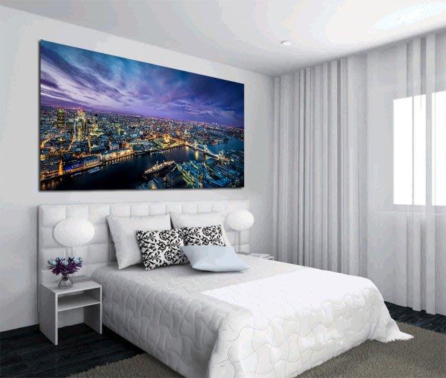 客製化壁貼 店面保障 編號F-509 倫敦夜景 壁紙 牆貼 牆紙 壁畫 星瑞 shing ruei