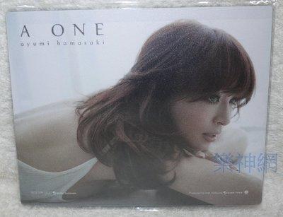 濱崎步Ayumi A ONE【台灣獨家限量精美滑鼠墊】全新