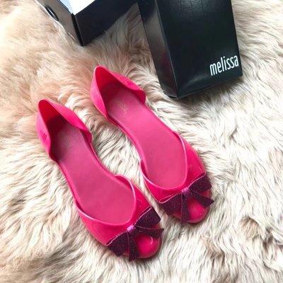 ╭☆包媽子店☆巴西正品Melissa Angel 天使系列蝴蝶結款涼鞋