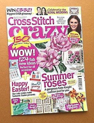 紅柿子【英文彩色版•Cross Stitch crazy 十字繡作品集 ISSUE 150】全新•特售50元•