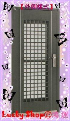 【鴻運HY-9303】4合1通風大門.玄關.隔間門.通風門.庭院門◎讓您的住家大門功能升級!