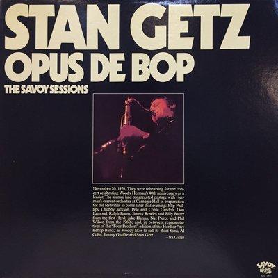 §小宋唱片§ 美版/Stan Getz – Opus De Bop/二手爵士黑膠/Mono