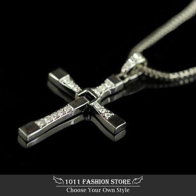 玩命關頭 十字架項鍊 / 情人節禮物 / 情人對鍊 / 鈦鋼項鍊 / 不鏽鋼十字架項鍊 / 西德鋼項鍊 唐老大 馮迪索