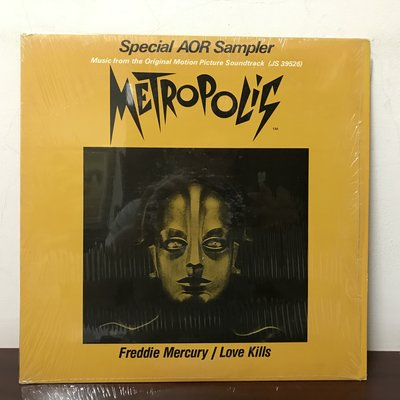 晨雨黑膠【西洋】美版/Freddie Mercury – Love Kills (1984) / Promo版