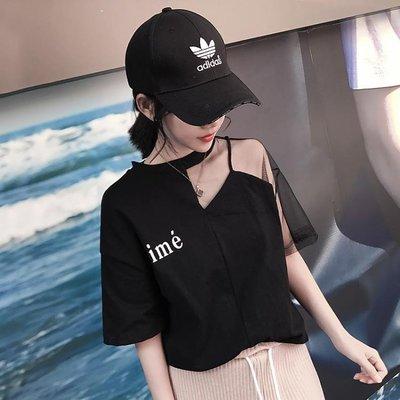 短袖T恤超火的上衣短袖女新款韓版寬鬆b...