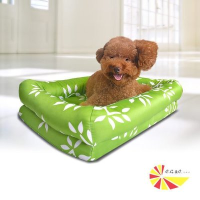 【凱蕾絲帝】自然元氣~寵物記憶床墊(中)~台灣製、免運費、高雄市10公斤以上寵物用