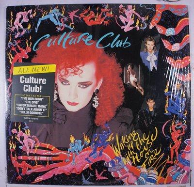 《二手美版黑膠》Culture Club - Waking Up With the House on Fire