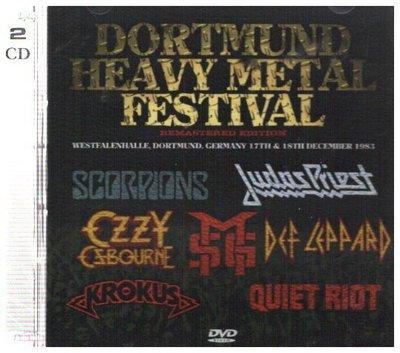 新尚唱片/ DORTMUND HEAVY METAL FESTIVAL 2DVD 二手品-2347