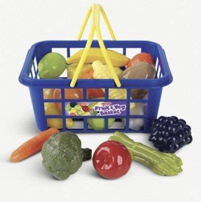 (預購)卡士通Casdon Fruit & Veg shopping basket 蔬菜水果購物籃