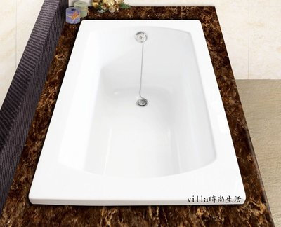 --villa時尚生活--簡約H~219方型浴浴缸 空缸 獨立浴缸 按摩浴缸 古典浴缸110/ 120*70*58cm 台中市