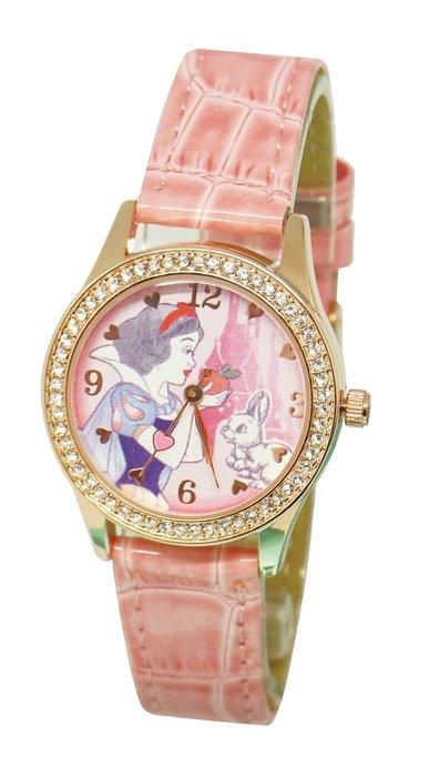 GIFT41 4165本通 板橋店 迪士尼 石英指針錶 白雪公主