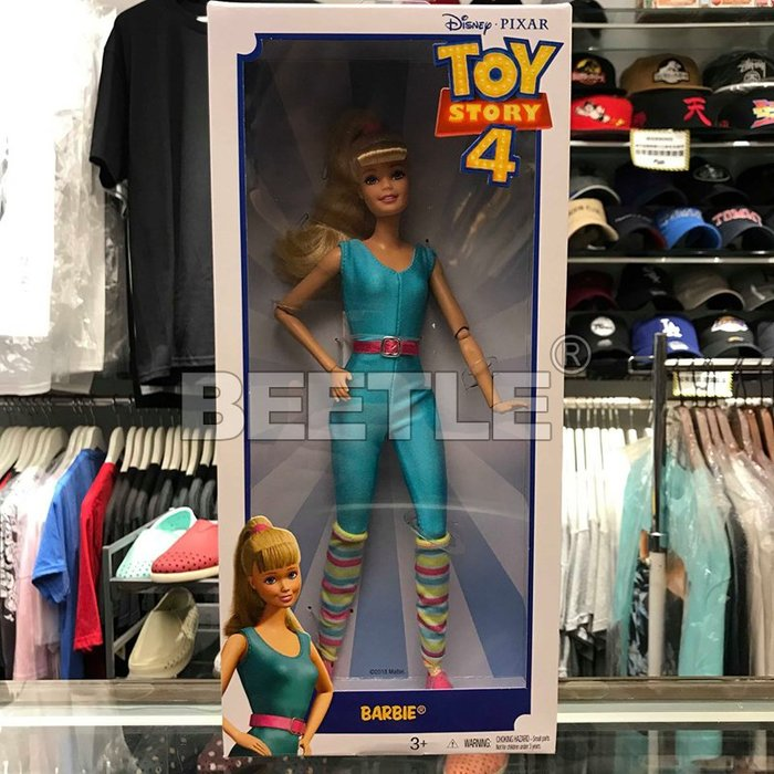 BEETLE 現貨 美國 迪士尼 玩具總動員 TOY STORY 4 芭比娃娃 BARBIE  MATTEL 可動