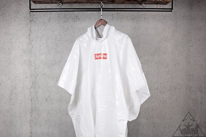 【HYDRA】Supreme Ballpark Poncho Box Logo 雨衣【SUP440】