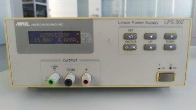 鼎瀚科技 專業儀器維修校正實驗 電源供應器 AMREL AMERICAN RELIANCE INC LPS 302