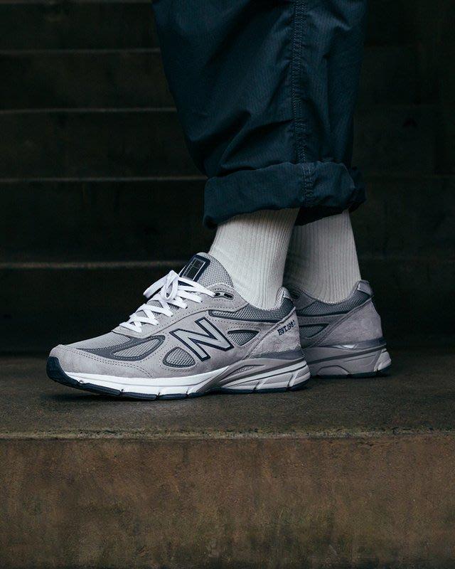 """New Balance in USA M990V4""""元祖灰""""復古 經典 百搭 休閒運動慢跑鞋 M990NB4 男鞋"""