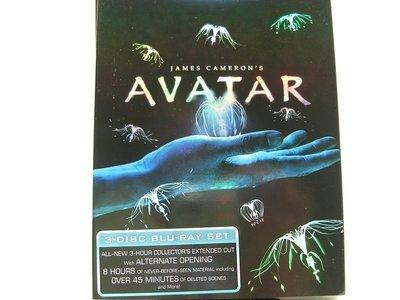 【正版BD】Avatar(阿凡達加長收藏三碟版)美版.有中文字