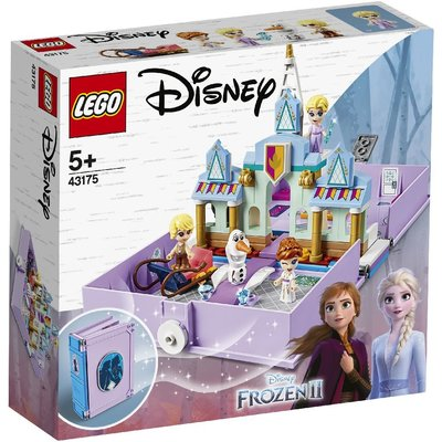 台中*宏富玩具*LEGO 樂高積木 Disney Princess 43175 安娜與艾莎的口袋故事書