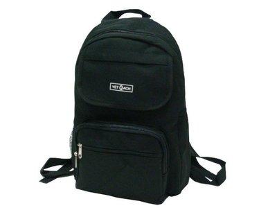 【菲歐娜】6873-1-(特價拍品)YET Q ACH 休閒後背包(黑)台灣製造