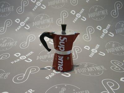 【Dou Partner】SUPREME SS19 BIALETTI MOKA EXPRESS 摩卡壺 聯名 咖啡壺 紅