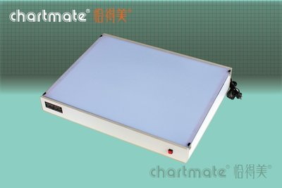 chartmate 恰得美 製圖桌:LB-A2W 恰得美 A2光桌/透光桌/描圖桌