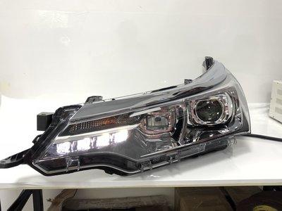 (小鳥的店)ALTIS 11.5代 LED 日行燈 魚眼 大燈 頭燈 遠燈 LED Q5 H7 透鏡 17 18年
